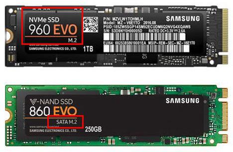 M.2 SSDプロトコル