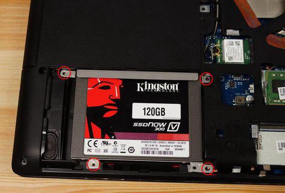 SSDを戻す
