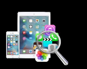 iPhone X などのiOS設備データ復元