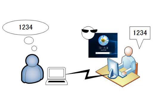 PINコードはパスワードより安全