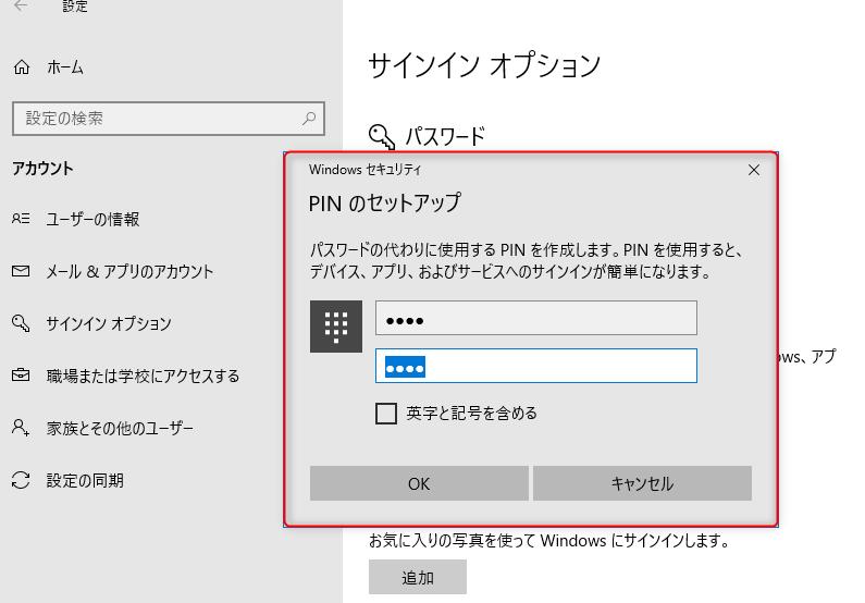 PIN-入力