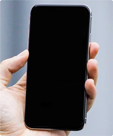 iPhone画面真っ暗