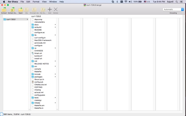 RAR Sharpソフトでファイルを追加