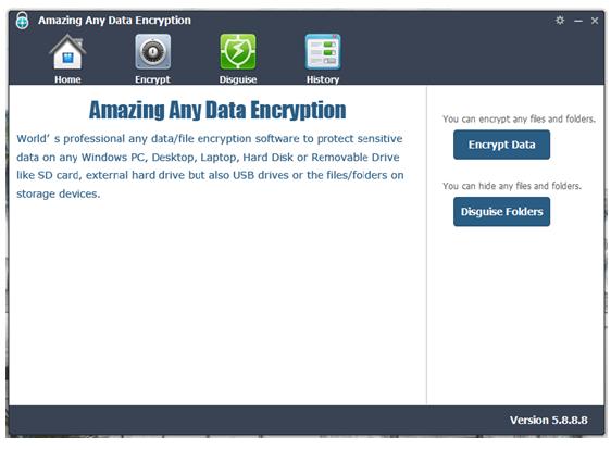 Amazing Any Data Encryptionソフト