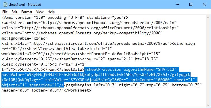 sheetProtectionの行を削除