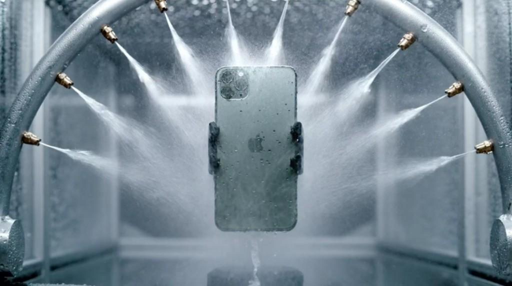 iPhone防水性