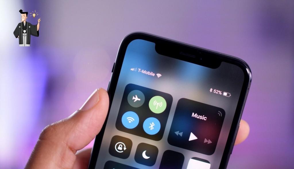 iPhone電話切れる