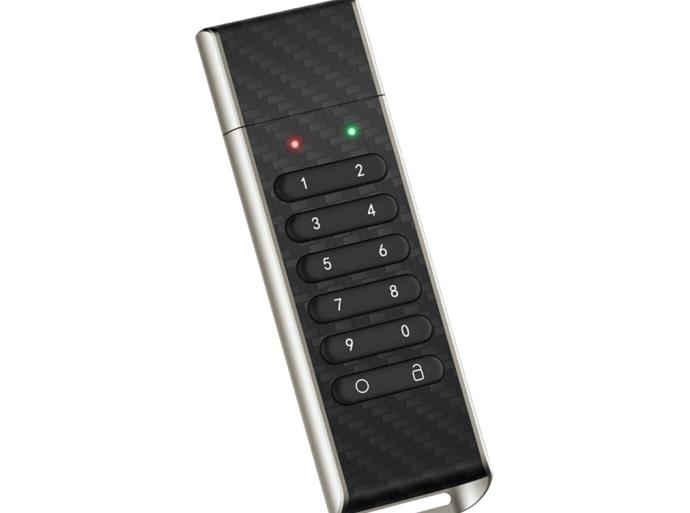 USBにパスワードをかける